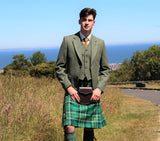 Lovat Green Tweed Outfit