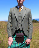 Lovat Green Tweed Kilt Hire Outfit