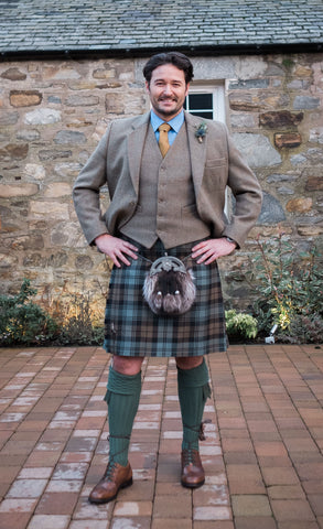 Nicolson Tweed Outfit