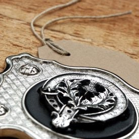 Clan Crest Belt Buckle