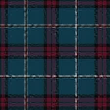 University of Edinburgh Tartan by the Metre