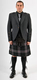 Holyrood (Charcoal Grey Tweed) Kilt Hire Outfit
