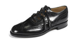 Loakes All Leather Ghillie Brogues