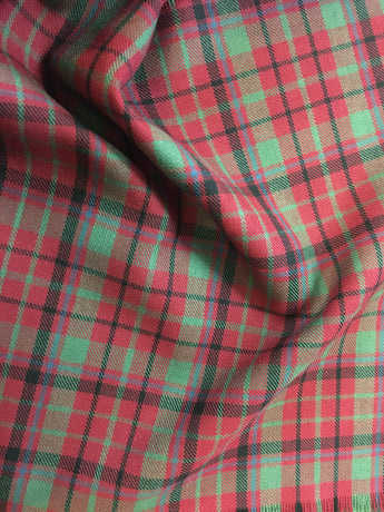 Muted Red Nicolson Tartan