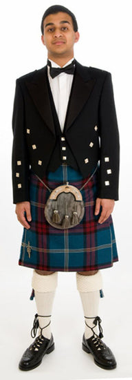 Prince Charlie Exclusive Tartan Kilt Outfit
