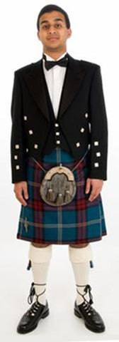 Prince Charlie Kilt Hire Outfit (Exclusive Tartan)