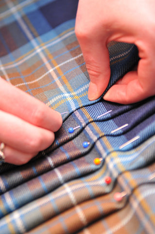 The Traditional Art of Kiltmaking