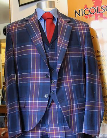 Scottish National Team Tartan Jacket with Waistcoat