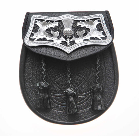 SP-T Tooled Leather Sporran
