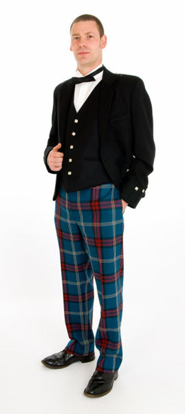 Argyll Exclusive Tartan Trews Outfit