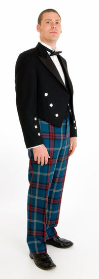 Prince Charlie Exclusive Tartan Trews Outfit