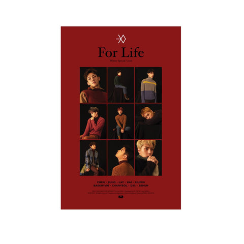 EXO Winter Special 2016 [For Life] Poster
