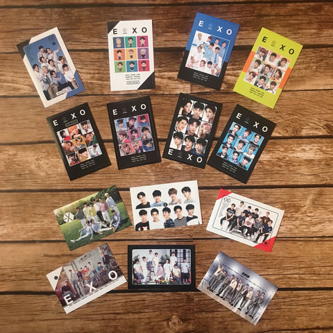 EXO Card Sticker (1 Random Sticker)