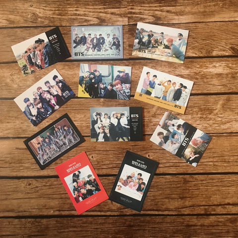 BTS Card Sticker (1 Random Sticker)