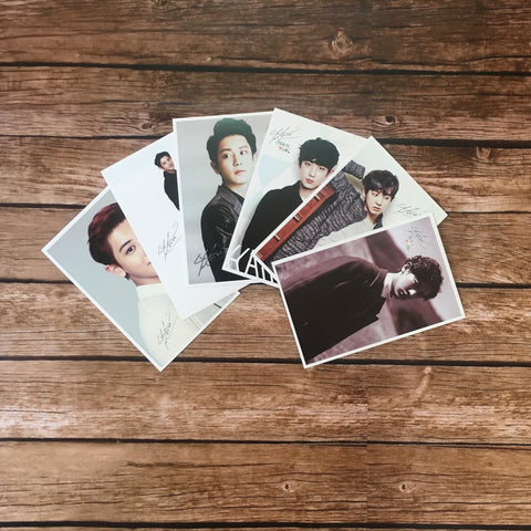 EXO Chanyeol Post Card (1 Random Post Card)