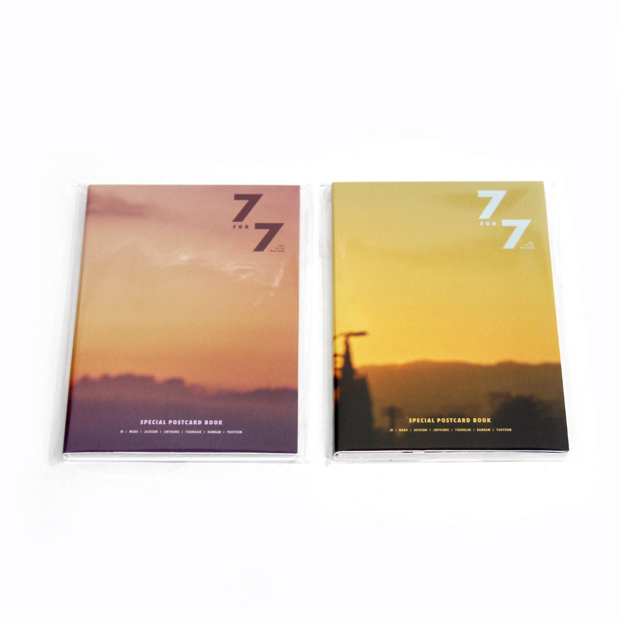 [GOT7 Postcard Book]7 for 7 Special Postcard Book