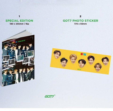 GOT7 EYES ON YOU Special Edition