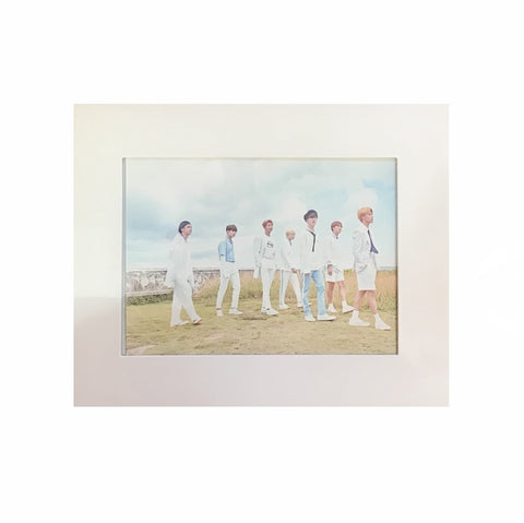 BTS - 2018 SEASONS GREETINGS [Postcard+Photo Paper Frame]