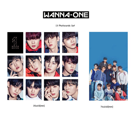 WANNA-ONE PHOTOCARDS SET