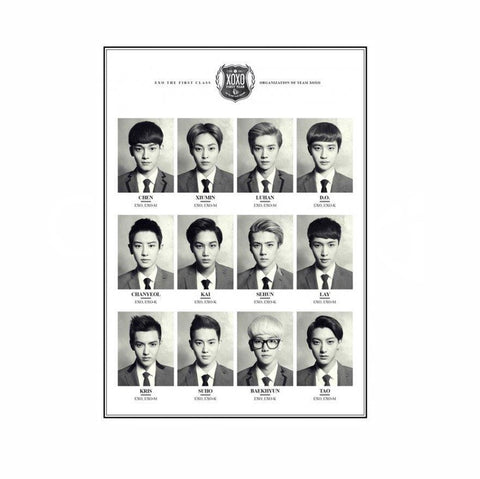 EXO XOXO POSTER [OFFICIAL]