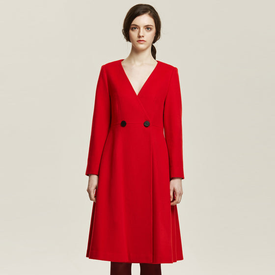 [Cahiers] A-Line Swing Coat