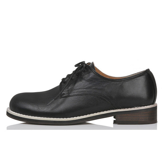 [YUUL YIE] BLACK DERBY SHOE