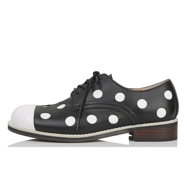 [YUUL YIE] PUNCHING DOTS BLACK DERBY