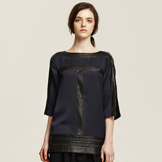 [Cahiers] Open Sleeve Top