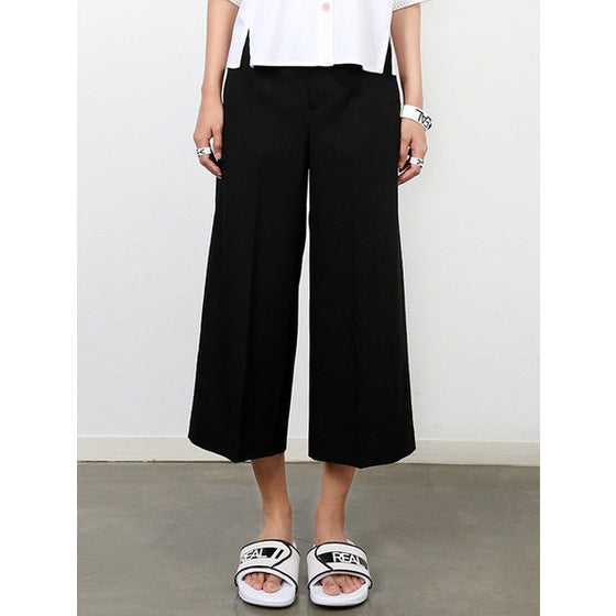 [CRES. E DIM.] 'REAL'FAKE LEATHER HALF PANTS (BLACK)