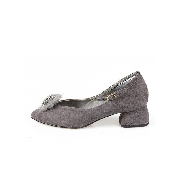 [giselle the bonni] mink jewel gray