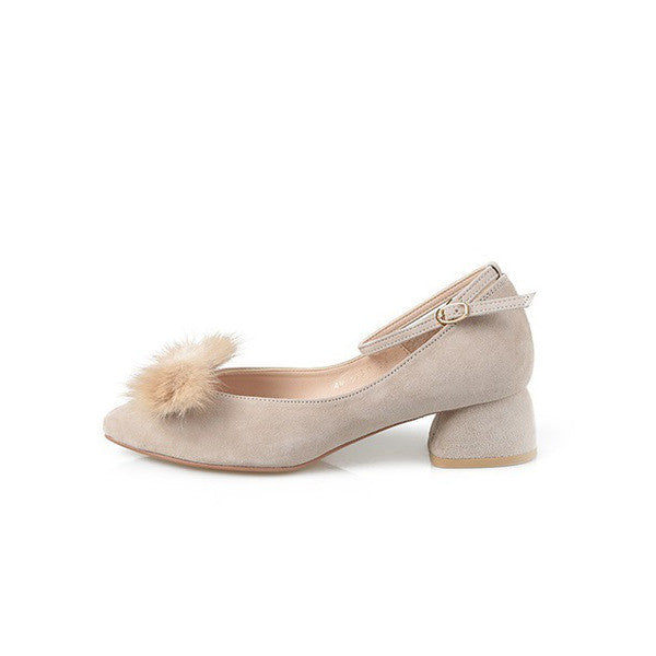 [giselle the bonni] mink ribbon beige