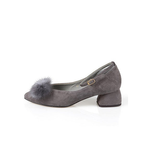 [giselle the bonni] mink ribbon gray