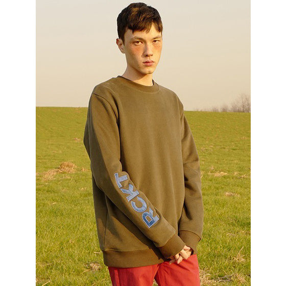 [RCKT] RC SLEEVE LOGO SWEAT-SHIRTS