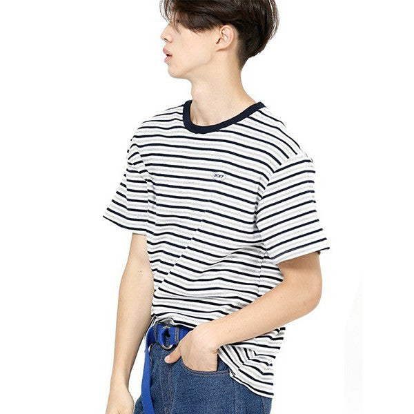 [RCKT] RCKT 3 COLOR STRIPE T