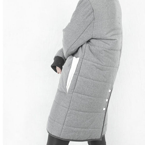 [GOLDENAI] Padding Coat - Grey