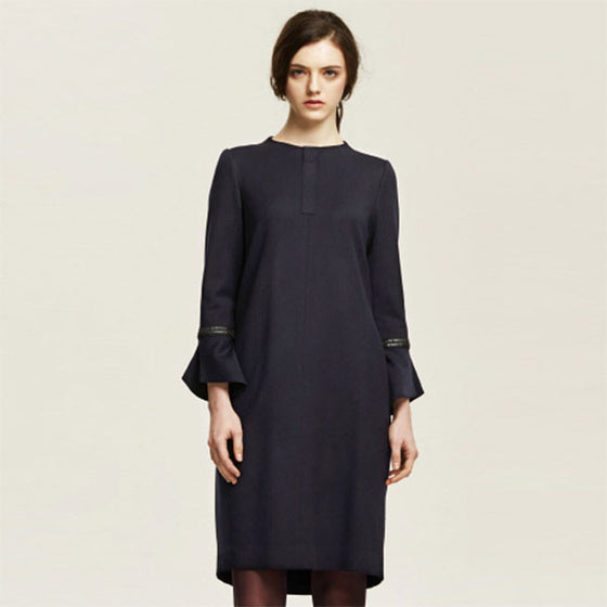 [Cahiers] Flared Cuff Dress