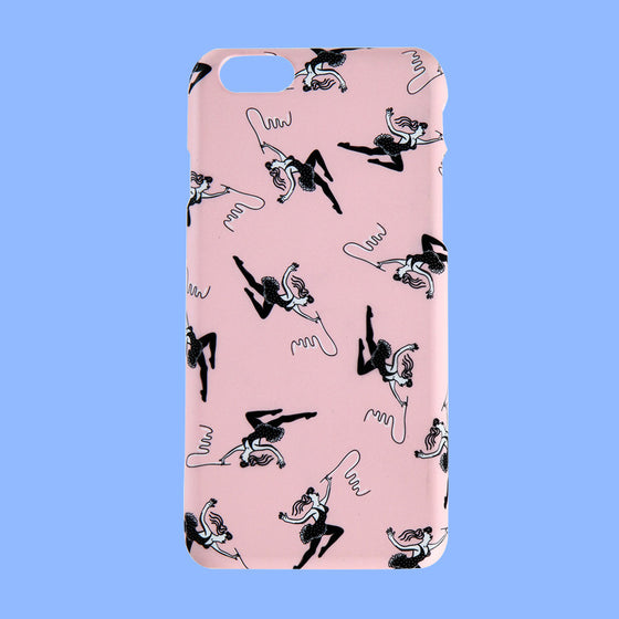 [bpb] Circus Girls iPhone 6/6s Case_Baby Pink