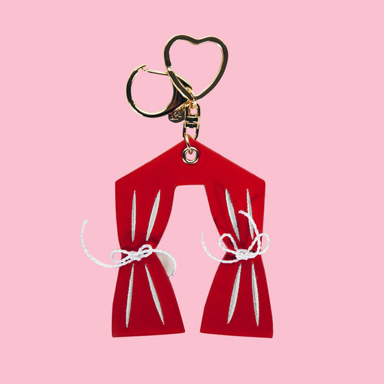 [bpb] Curtain Gold Charm_Red