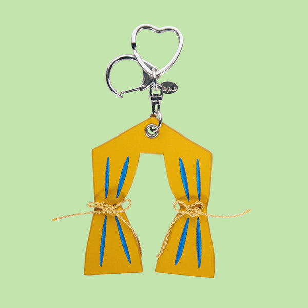 [bpb] Curtain Silver Charm - Yellow