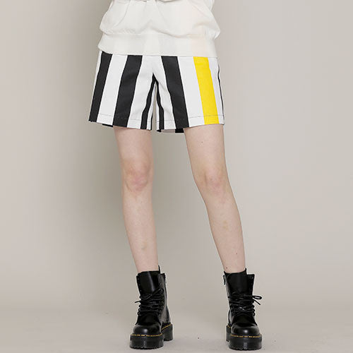 [ROCKET X LUNCH] R LARGE STRIPES SHORTS