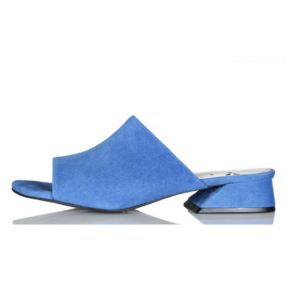 [YUUL YIE] YY 16 SUMMER BAKER SEA BLUE MULE