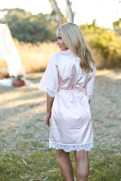 HARLOW GYPSII ROBE - NAKED ROSE