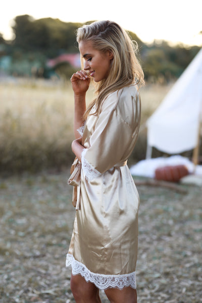 HARLOW GYPSII ROBE - LUXE