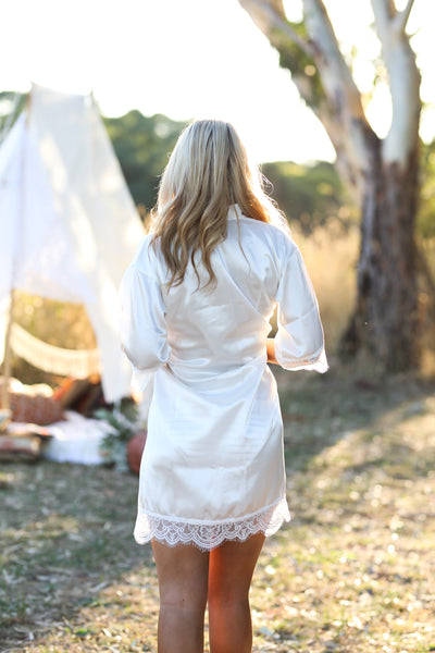 HARLOW GYPSII ROBE - WHISPER