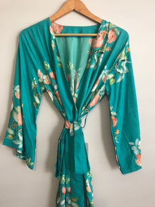 Floral Chic - Teal