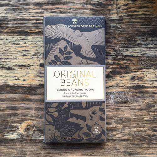 Cusco Chuncho 100% - Vegan Bean to Bar Chocolate