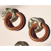 Wood Ring EarPendants