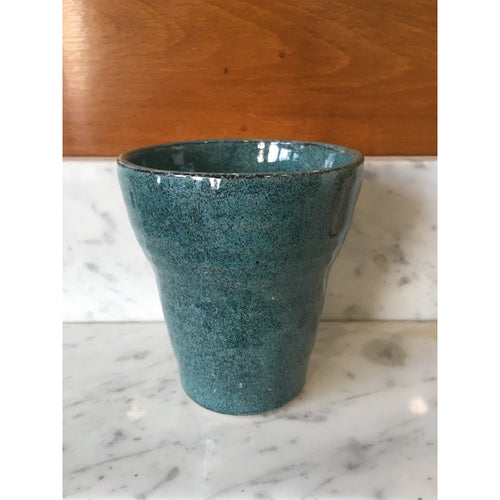 Turquoise Water Glass