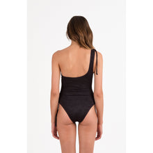 Ink Ruched One Piece Peony - La Flora Sagrada