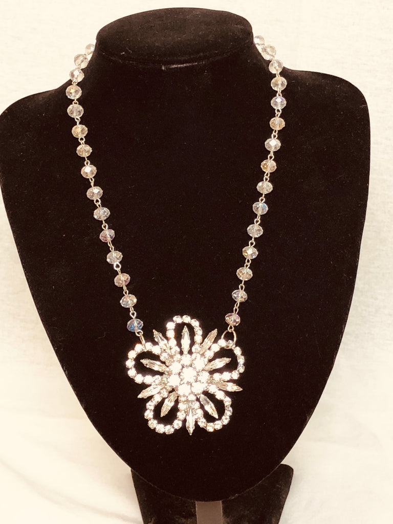 Bridal Rhinestone Necklace